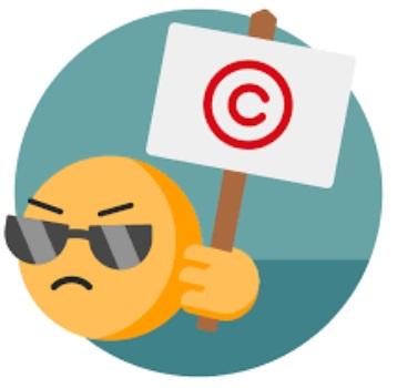 آشنایی با قوانین Copy right