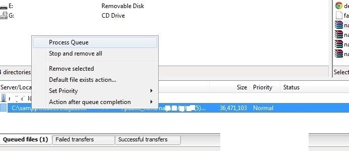 دانلود یا آپلود در فایل زیلا