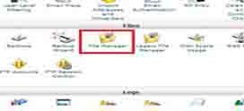 ویرایش فایل ها در کنترل پنل cPanel