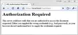 ارور 401 Unauthorized