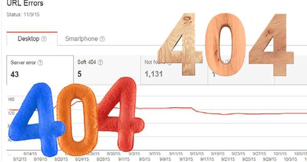 رفع خطای soft 404