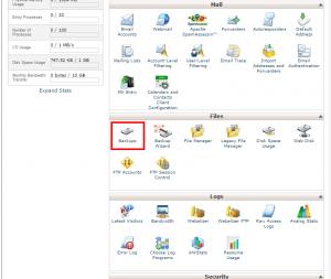 آموزش انتقال فول بکاپ سایت به سرور دیگر در Cpanel