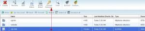 تغییر سطح دسترسی یک فایل یا پوشه